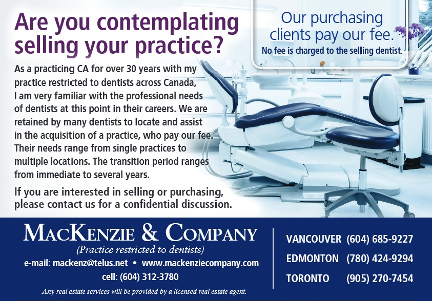 Buying or selling a dental practice